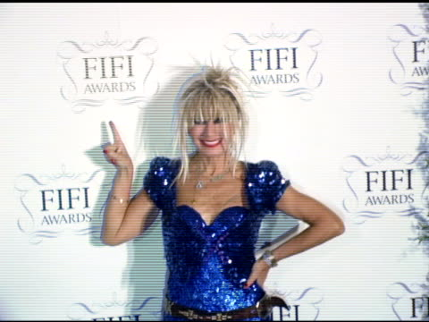 Betsey Johnson at the 34th Annual Fifi Awards Presented by the Fragrance Foundation at the Hammerstein Ballroom in New York New York on April 3 2006