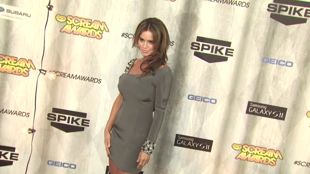 betsy russell at the spike tv's 'scream awards at universal city ca - universal city stock videos & royalty-free footage