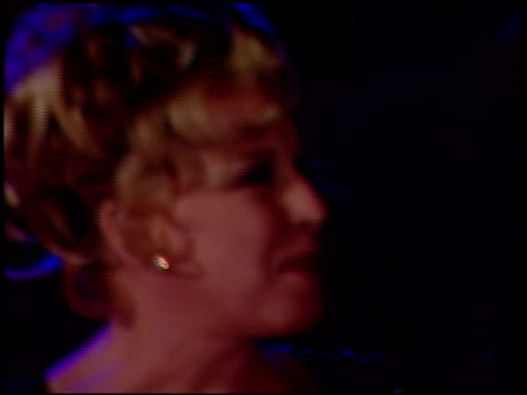 bette midler at the 1997 academy awards vanity fair party at the shrine auditorium in los angeles, california on march 24, 1997. - 69th annual academy awards stock videos & royalty-free footage