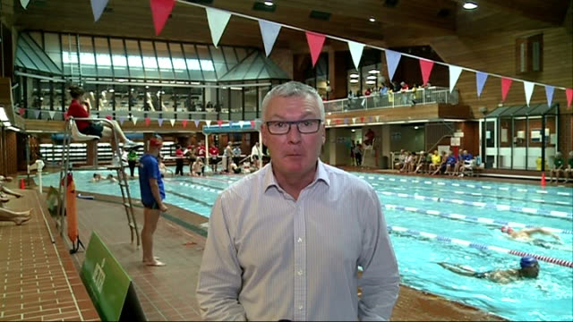 better club games provides multisport competition for the over 55's england london brixton brixton recreation centre int various of participants in... - olympic medal stock videos & royalty-free footage