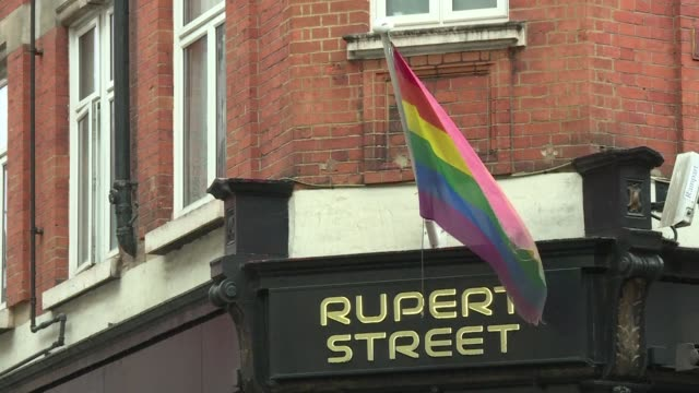 better known for looking after britain's stately homes the national trust is organising a series of walking tours on soho's gay history to celebrate... - national trust video stock e b–roll
