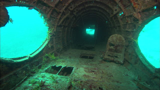 Betty Bomber, Inside, Chuuk Lagoon, South Pacific