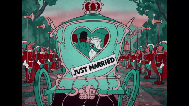 Betty Boop marries a prince