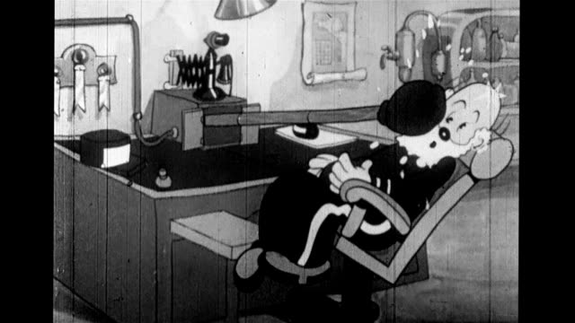 Betty Boop seeks help at the Animal Aid Society