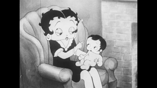 betty boop's nephew stays in bed - nanny stock videos & royalty-free footage