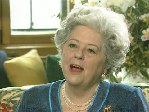 betty boothroyd interview:; england: london: westminster: houses of parliament: cms betty boothroyd mp intvwd sot - international women's day is... - itv news at one stock videos & royalty-free footage
