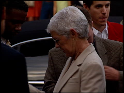 betty degeneres at the 'return to paradise' premiere at mann theatre in westwood, california on august 10, 1998. - regency village theater stock videos & royalty-free footage