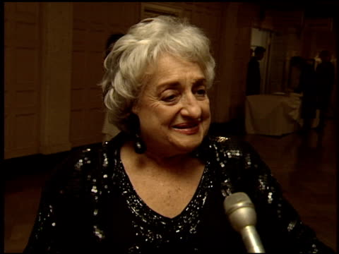 Betty Friedan at the 1993 Women in Film Academy Awards Party on March 29 1993