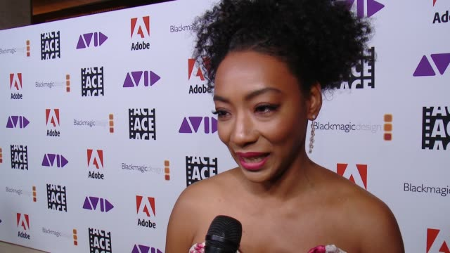 INTERVIEW Betty Gabriel on the event at 68th Annual ACE Eddie Awards in Los Angeles CA