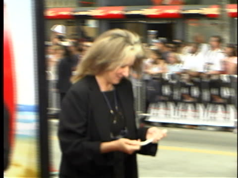 betty thomas at the charlies angels full throttle premiere at manns chinese theater, hollywood in hollywood, ca. - throttle stock videos & royalty-free footage