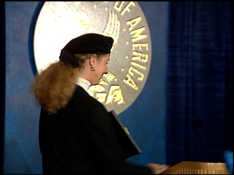 betty thomas at the directors guild awards press room at the century plaza hotel in century city, california on march 8, 1997. - betty thomas stock videos & royalty-free footage