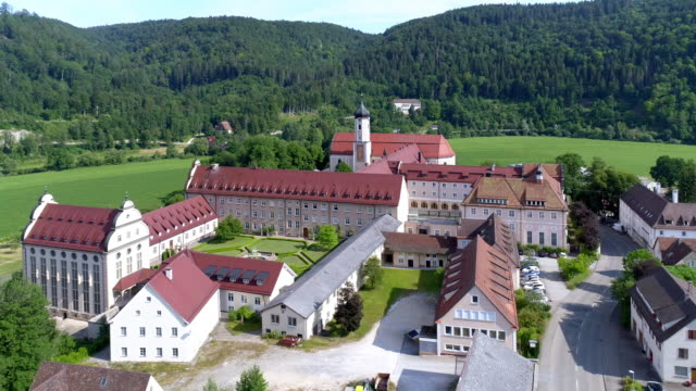beuron archabbey in the upper danube valley - monastery stock videos & royalty-free footage