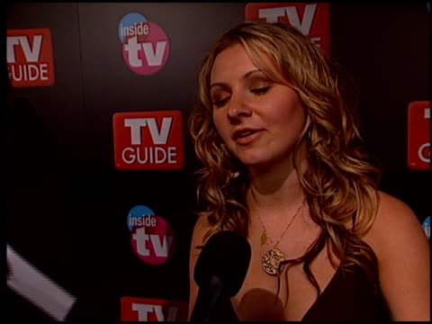 stockvideo's en b-roll-footage met beverley mitchell at the 2005 tv guide emmy awards party at the hollywood roosevelt hotel in hollywood california on september 18 2005 - 2005