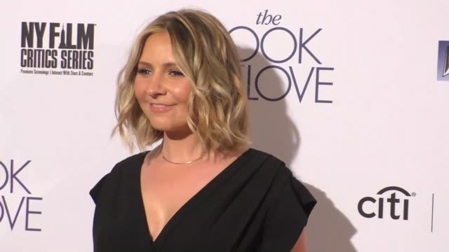 "beverley mitchell at the ""the book of love"" los angeles premiere at pacific theatre at the grove on january 10, 2017 in los angeles, california. - the grove los angeles stock videos & royalty-free footage"