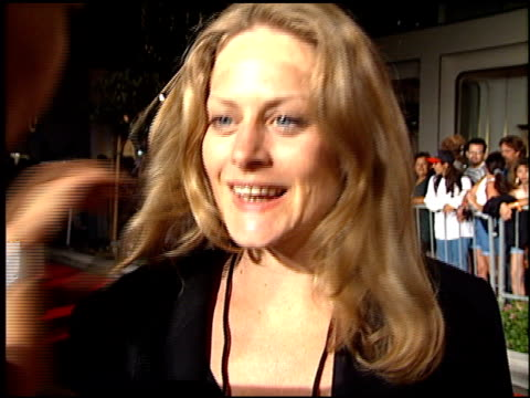 Beverly D'Angelo at the Planet Hollywood entrances on September 17 1995