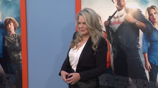 beverly d'angelo at the vacation los angeles premiere at regency village theatre on july 27 2015 in westwood california - regency village theater stock videos and b-roll footage