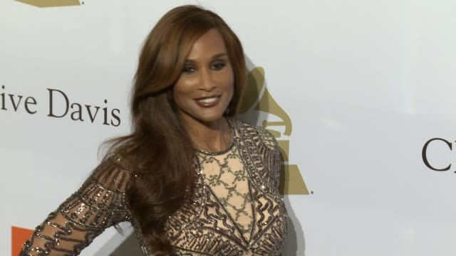 Beverly Johnson at the 2017 PreGrammy Gala Honoring Debra L Lee With Grammy Salute To Industry Icons Award at The Beverly Hilton Hotel on February 11...