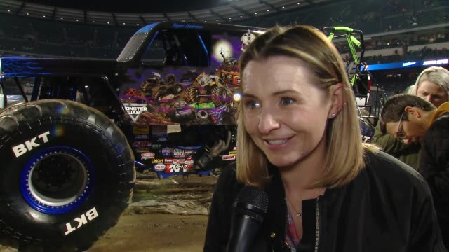 INTERVIEW Beverly Mitchell on what do you love about Monster Jam on do you have a favorite truck on maybe your kids will have a favorite truck after...