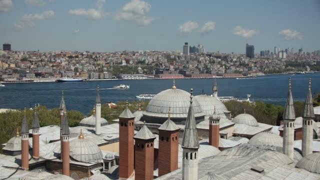 WS HA Beyoglu district across roofs of Topkapi, Istanbul, Turkey