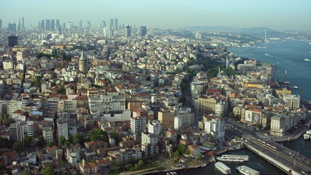 beyoglu district in istanbul turkey - istanbul video stock e b–roll