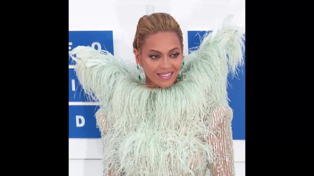 beyoncé at the 2016 mtv video music awards on august 28 2016 in new york new york - beyoncé knowles stock videos & royalty-free footage