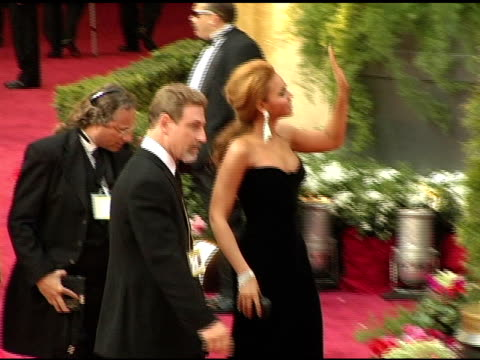 Beyonce at the 2005 Annual Academy Awards Arrivals at the Kodak Theatre in Hollywood California on February 28 2005