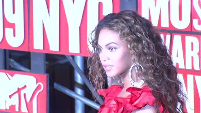 Beyonce at the 2009 MTV Video Music Awards at New York NY