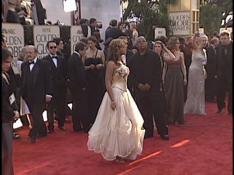 beyonce knowles at the golden globes 2003 at beverly hilton hotel beverly hills in beverly hills ca - beyoncé knowles stock videos & royalty-free footage