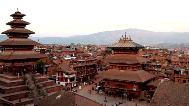bhaktapur durbar square - intricacy stock videos & royalty-free footage