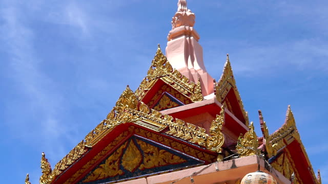 bhuddist temple ko lanta krabi thailand - ko lanta stock videos & royalty-free footage