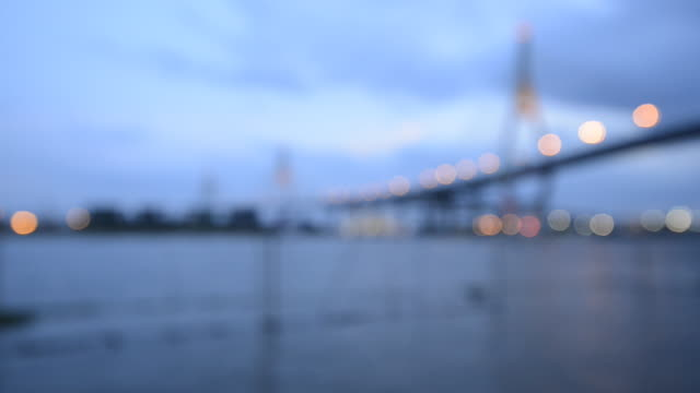 Bhumibol bridge, Thailand for Blur to focus