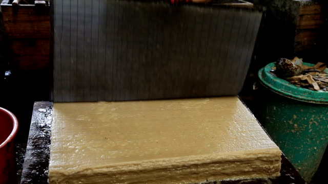 bhutan, thimphu, paper production - plant bark stock videos and b-roll footage