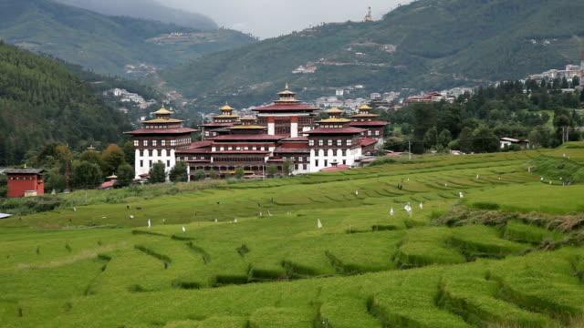 bhutan, thimphu - thimphu stock videos & royalty-free footage