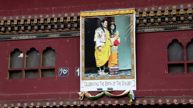 bhutan, thimphu - bhutan stock videos & royalty-free footage