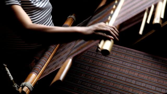 bhutan, thimphu, weaving - thimphu stock videos & royalty-free footage