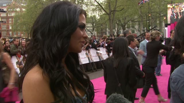 Bianca Gascoigne at the The Back Up Plan Premiere UK at London England