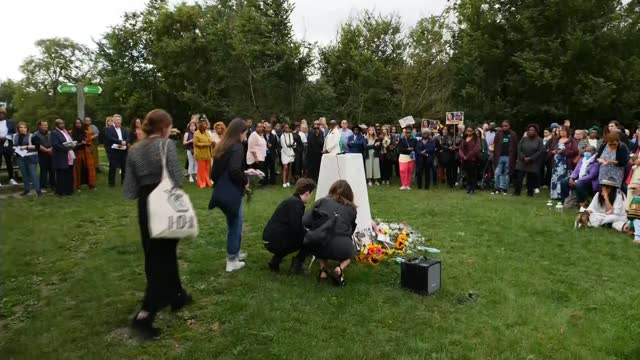 bibaa henry and nicola smallman murder: vigil to be held in fryent country park; england: london: wembley: fryent country park: ext close shot of... - crime and murder stock videos & royalty-free footage