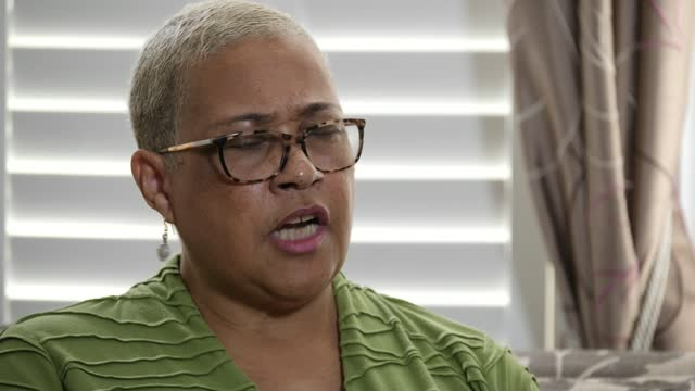 bibaa henry and nicole smallman murder: mother dismisses met police apology offer; england: int mina smallman interview sot cutaway reporter reporter... - channel 4 news stock videos & royalty-free footage