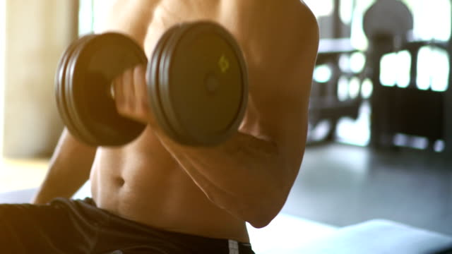 bicep workout. - bicep stock videos and b-roll footage