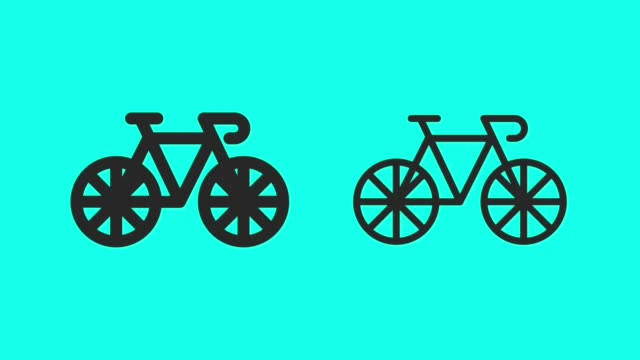Bicycle Fast Speed - Vector Animate