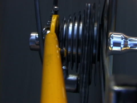 bicycle gears underway - audio available stock videos & royalty-free footage