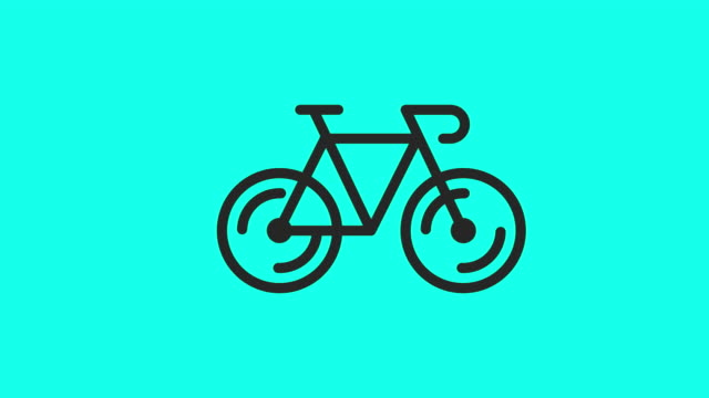 Bicycle Icons - Vector Animate