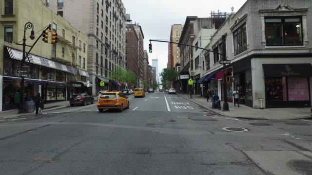 Cykel POV: på gatorna i NY stad