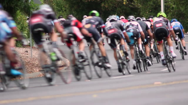 bicycle racers - strength stock videos & royalty-free footage