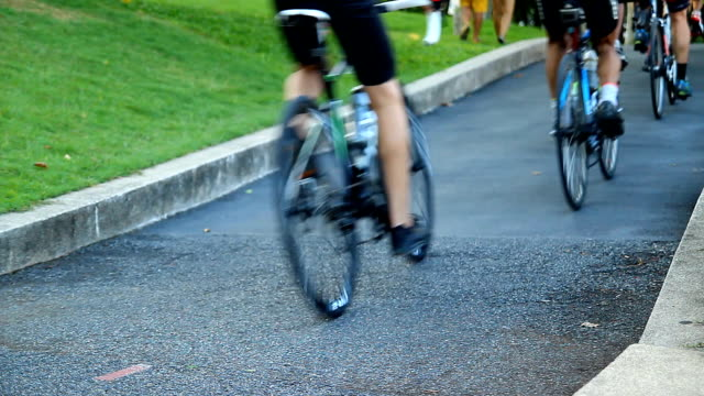 bicycle racing - racing bicycle stock videos and b-roll footage