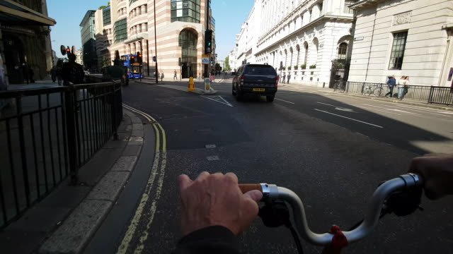 Bicycle Ride Around London Mansion House