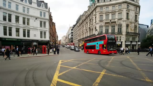 Bicycle Ride in London Ludgate Hill and Fleet Street