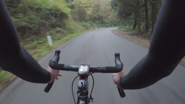 Bicycle training on Tuscany. Personal perspective