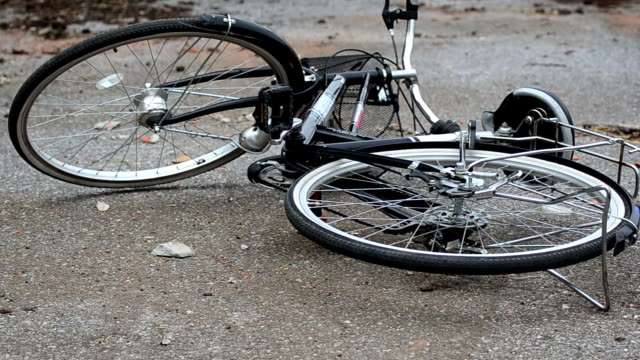 bicycle - crash stock videos & royalty-free footage