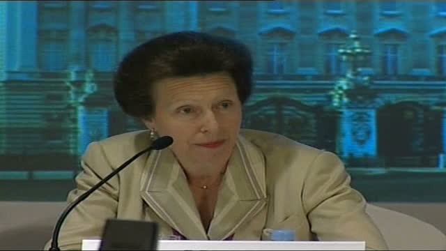 bid team in singapore for last days of campaigning; singapore: int princess anne, princess royal press conference sot - all the work that has been... - bid stock videos & royalty-free footage